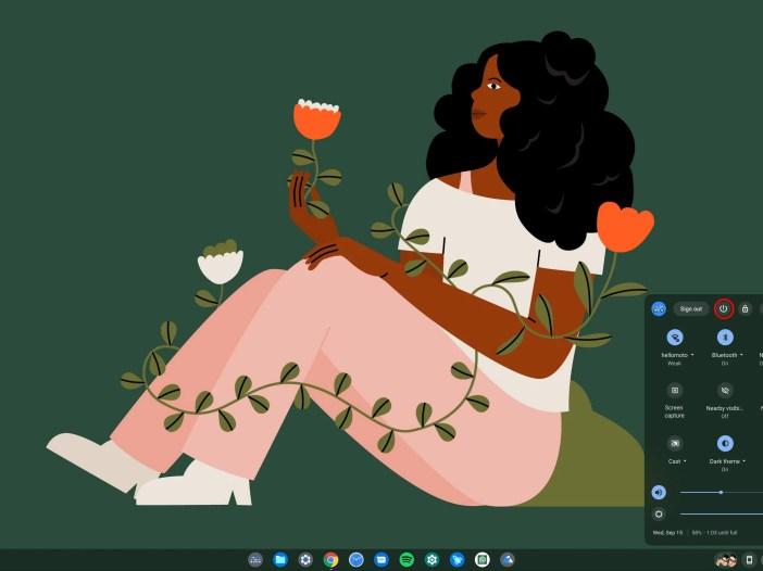 Chromebook Shutdown icon
