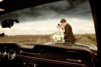 Hochzeitsauto Mustang