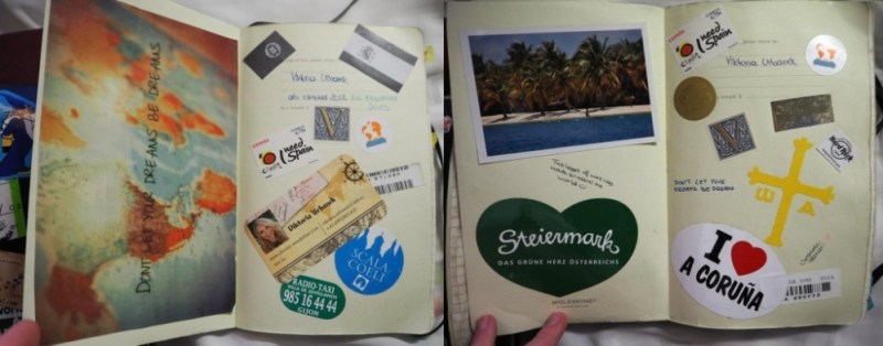 travel diary planning helpful inspiring