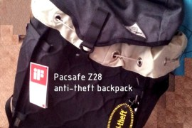 Pacsafe Z28 review anti theft backpack