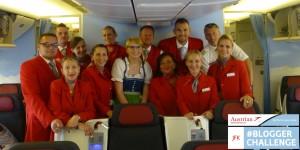 Austrian Airlines Blogger Challenge