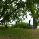 Toronto Island slackline