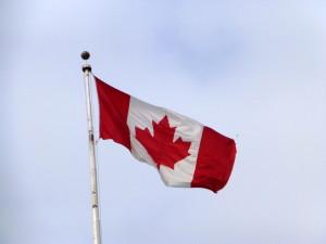 Toronto canada flag