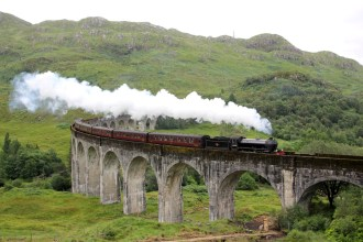 Glenfinnan Viaduct Magic