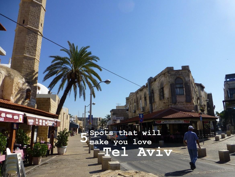 5 spots love tel aviv