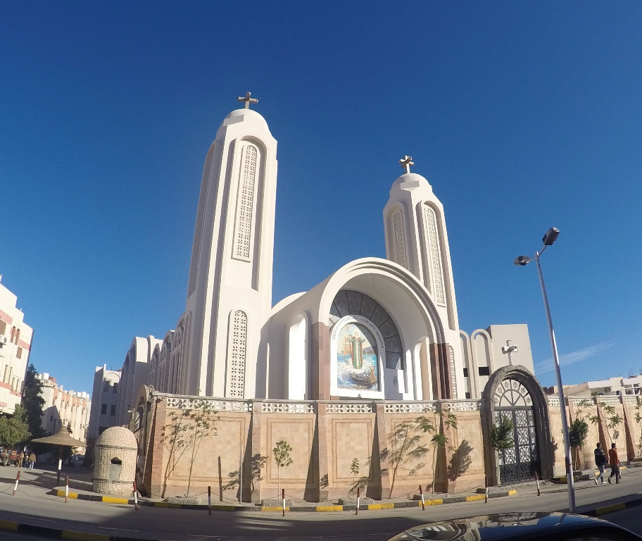 Church st shenouda hurghada