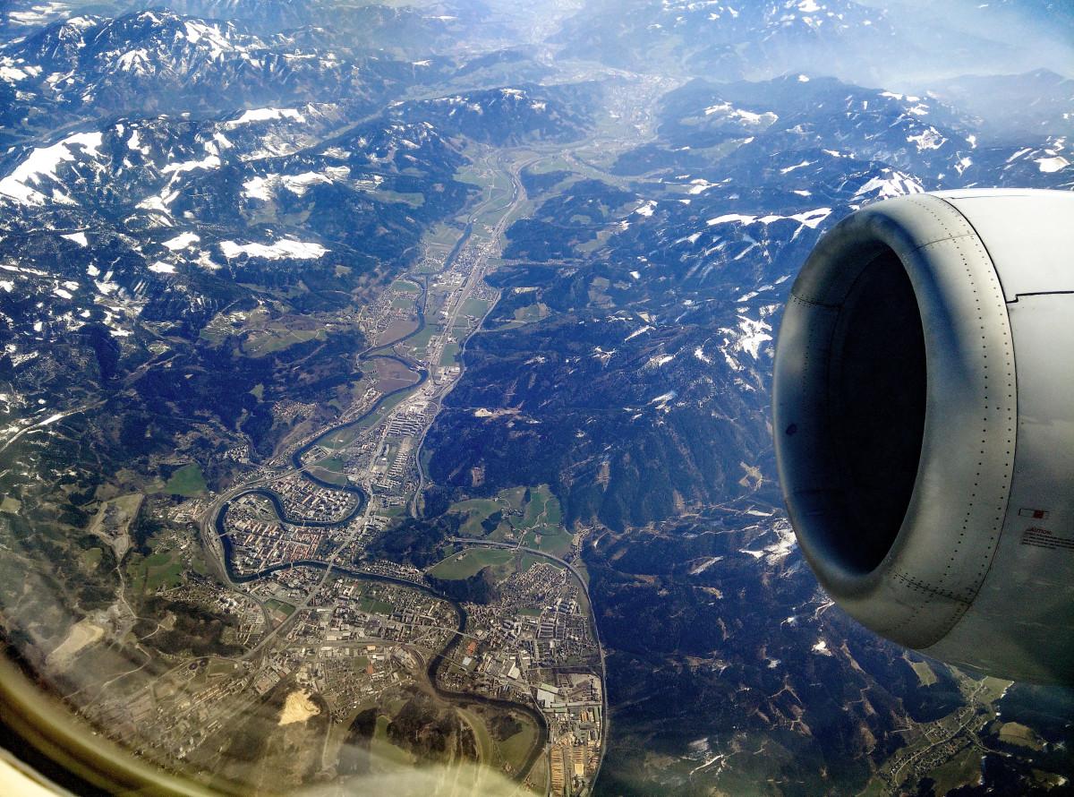 leoben von oben leben from above