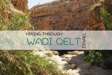Israel Hiking Wadi Qelt
