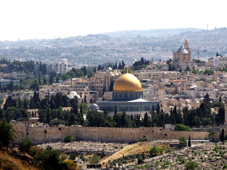 Overlooking Jerusalem