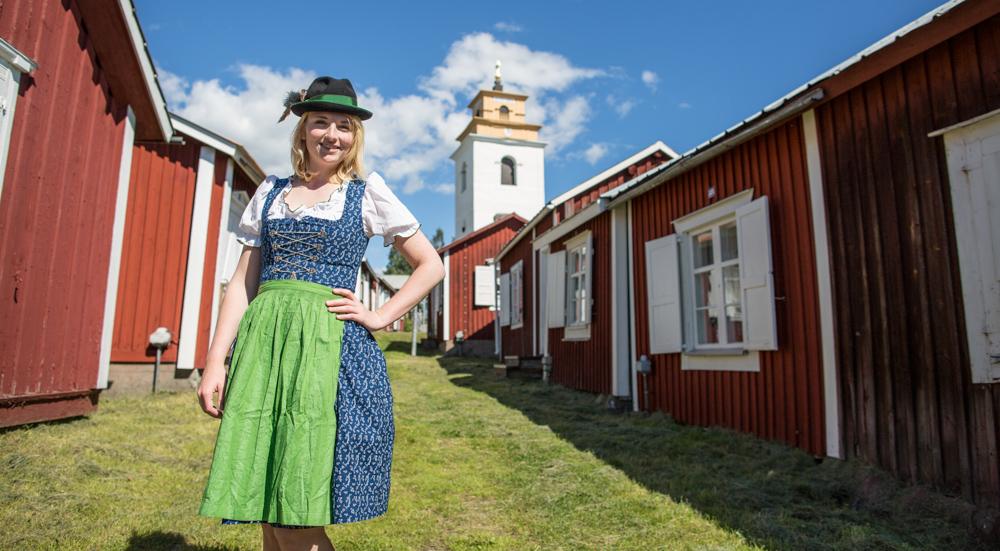 Dirndl Lulea Schweden Lappland