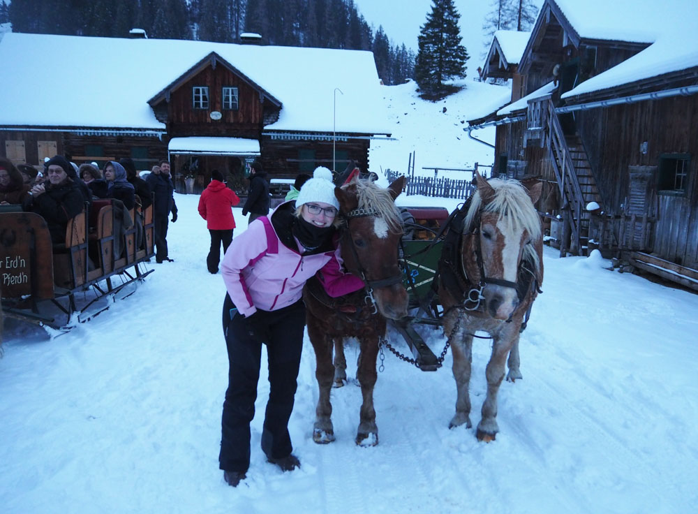 Pferdeschlittenfahrt Gnadenalm Obertauern
