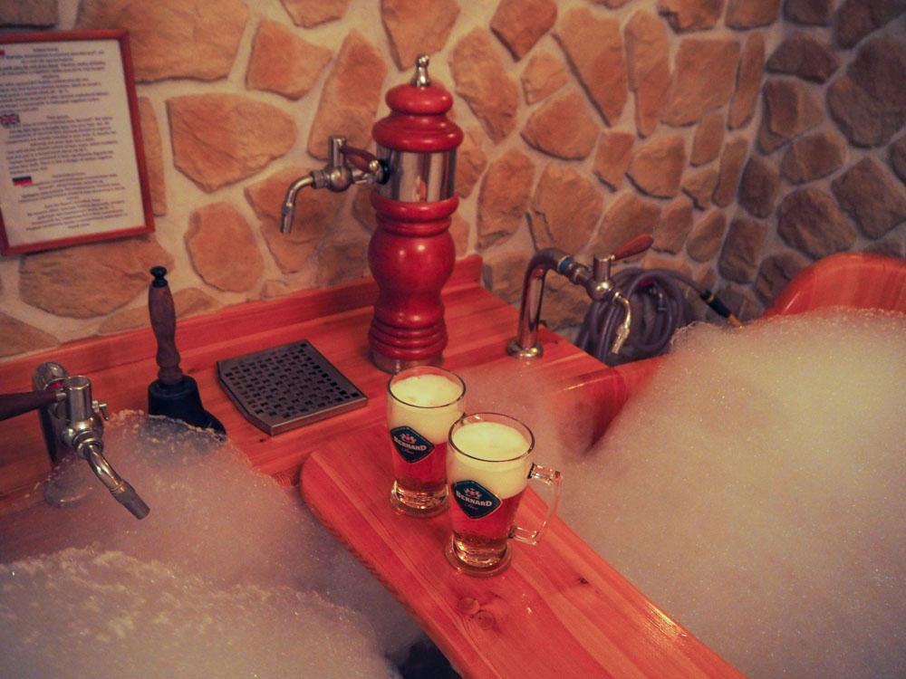 Prague Beer Spa