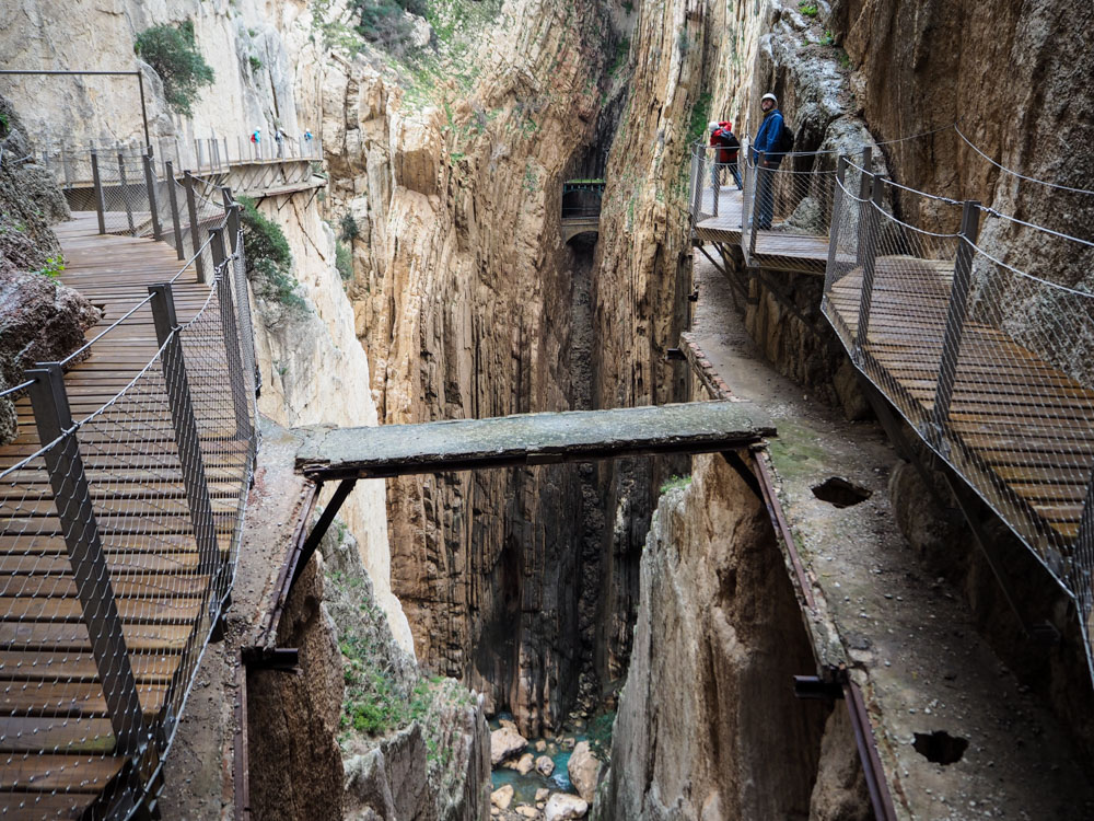 Caminito del Rey Old and new