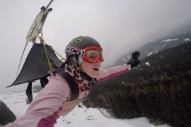 Flying Fox in Leogang
