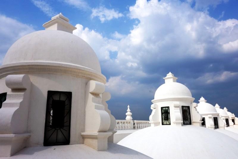 Das Dach der Kathedrale León © Hanna Bizjak