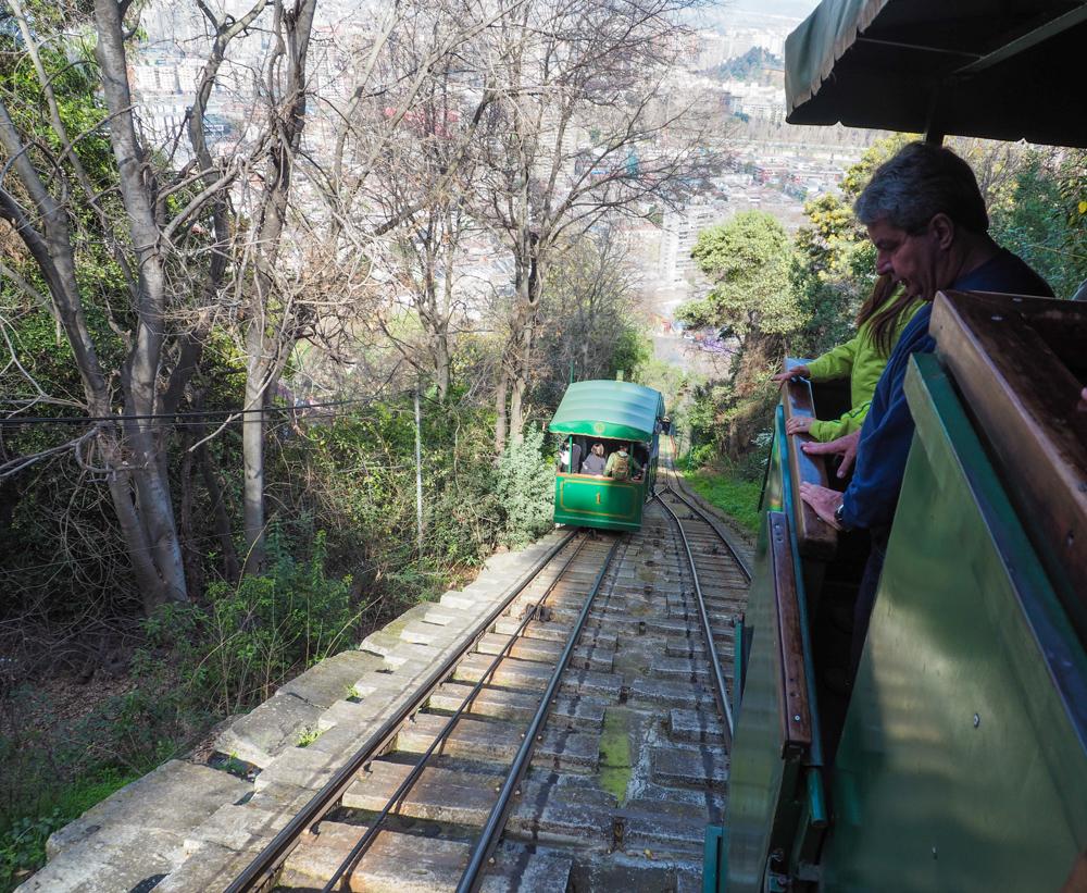 Funicular Cerro San Cristobal