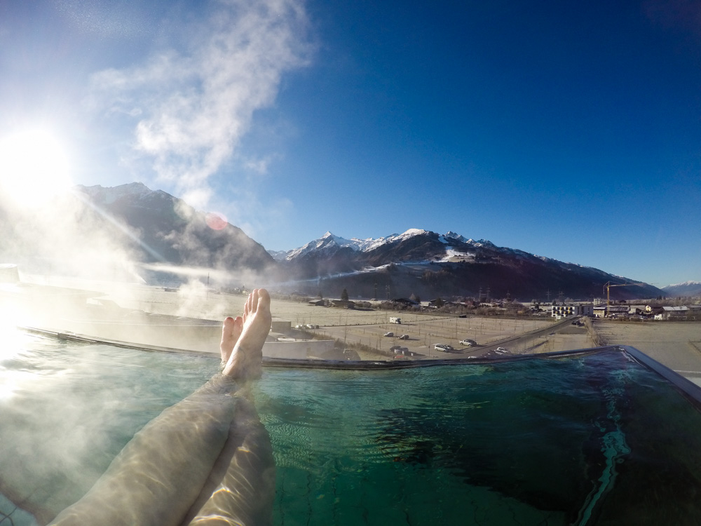 Tauern Spa Kaprun Infinity Pool