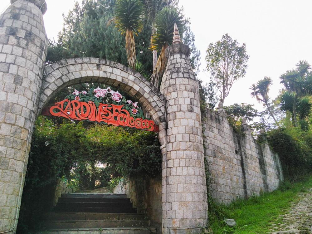 Varsana Eco Yoga Village Eingang