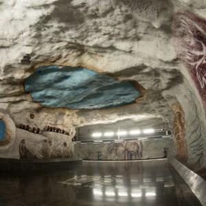 Kungstradgarden Metrostation Stockholm