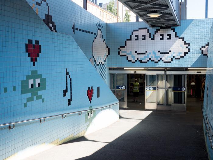 Thorildsplan Metrostation Stockholm