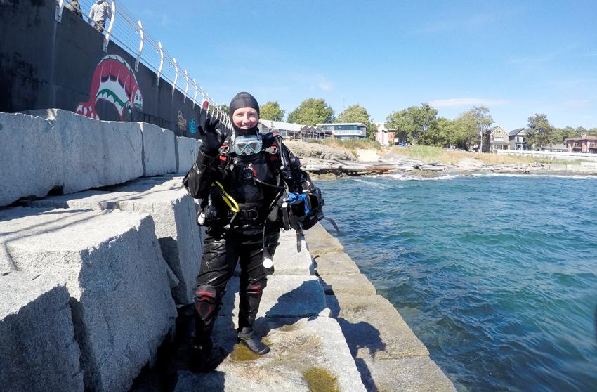 Ogden Point Diving