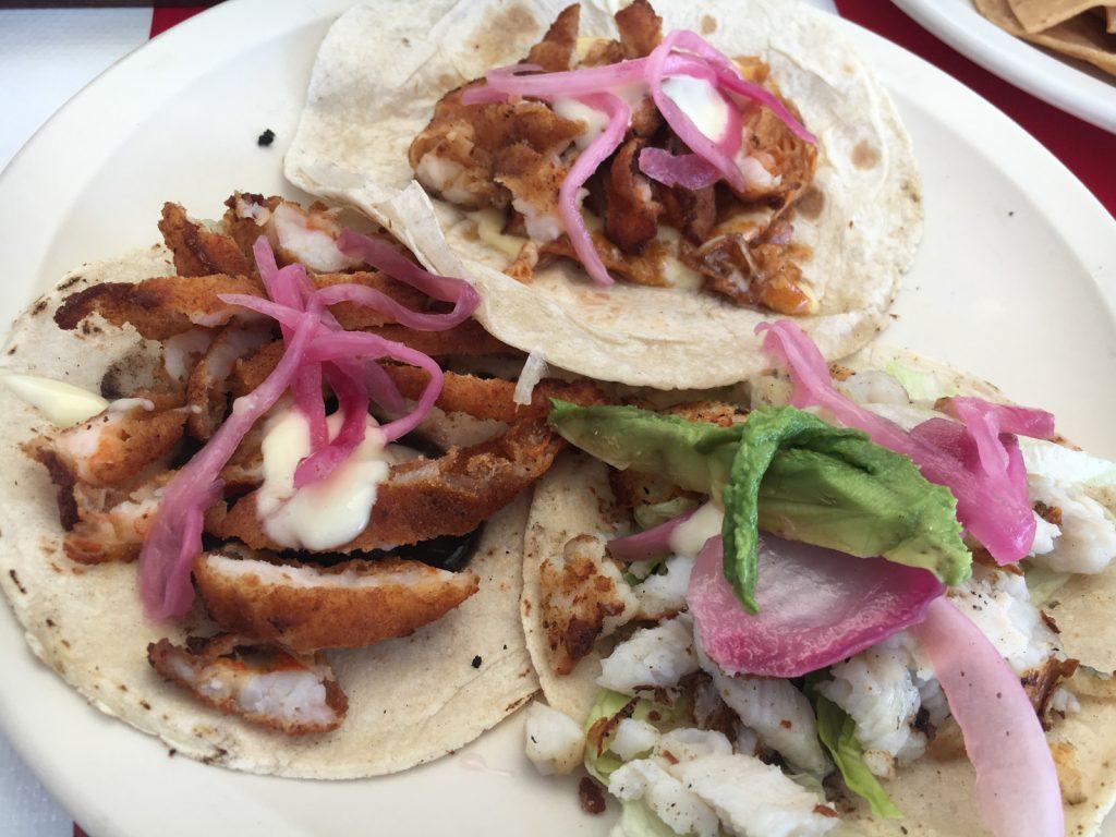 Fisch Tacos El Chino Marinero