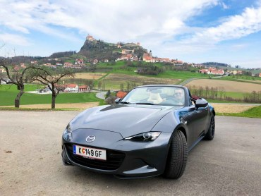 Steiermark Roadtrip Mazda Routes MX-5