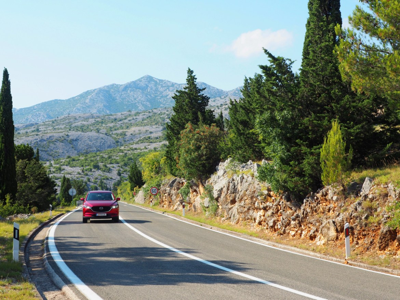 Roadtrip Kroatien Tauchen Mazda