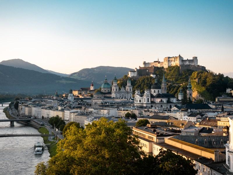 Salzburg an einem Tag