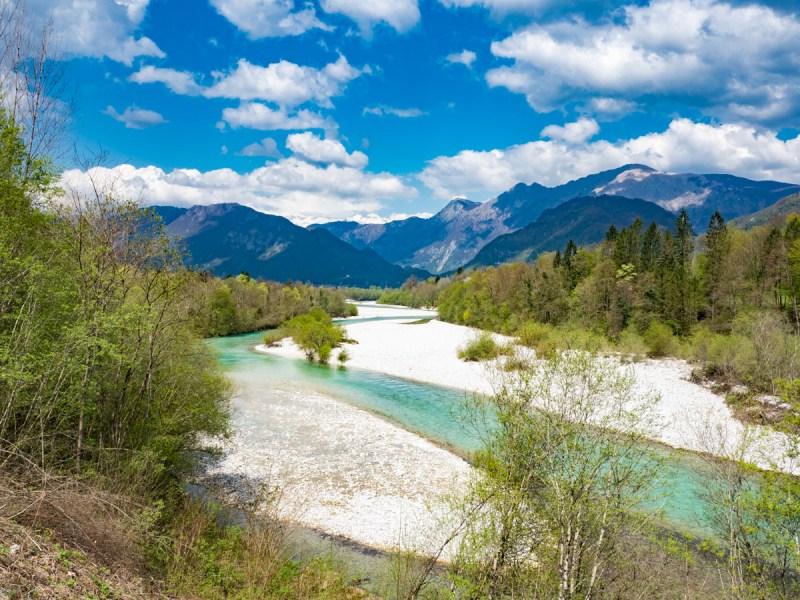 Slowenien Roadtrip Soca Tal