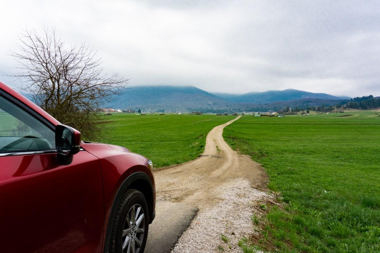 Slowenien Roadtrip Mazda
