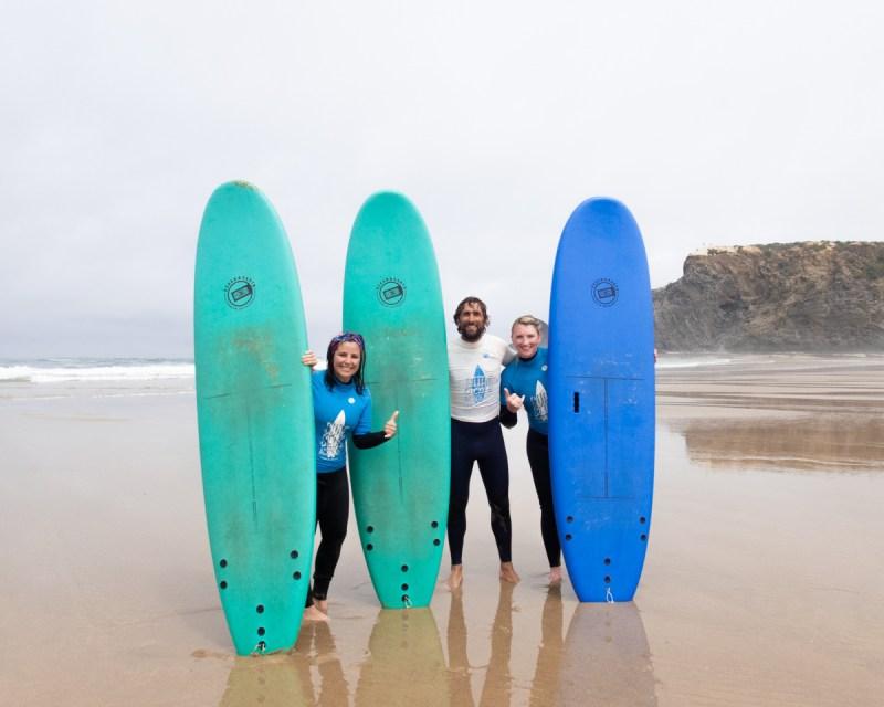 Portugal Rota Vicentina Surfen Odeceixe