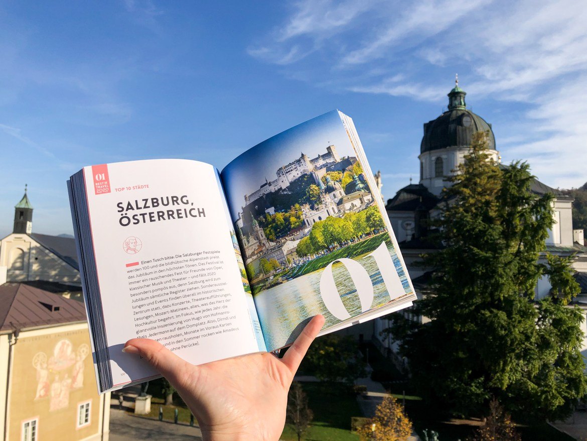 Salzburg Best in Travel 2020 Buch