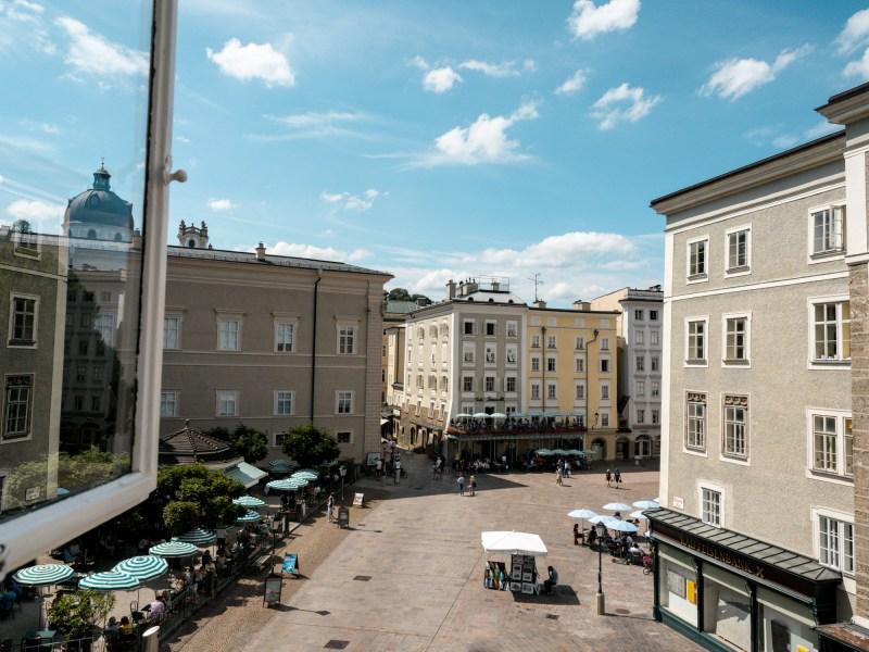 Domquartier Ausblick Salzburg