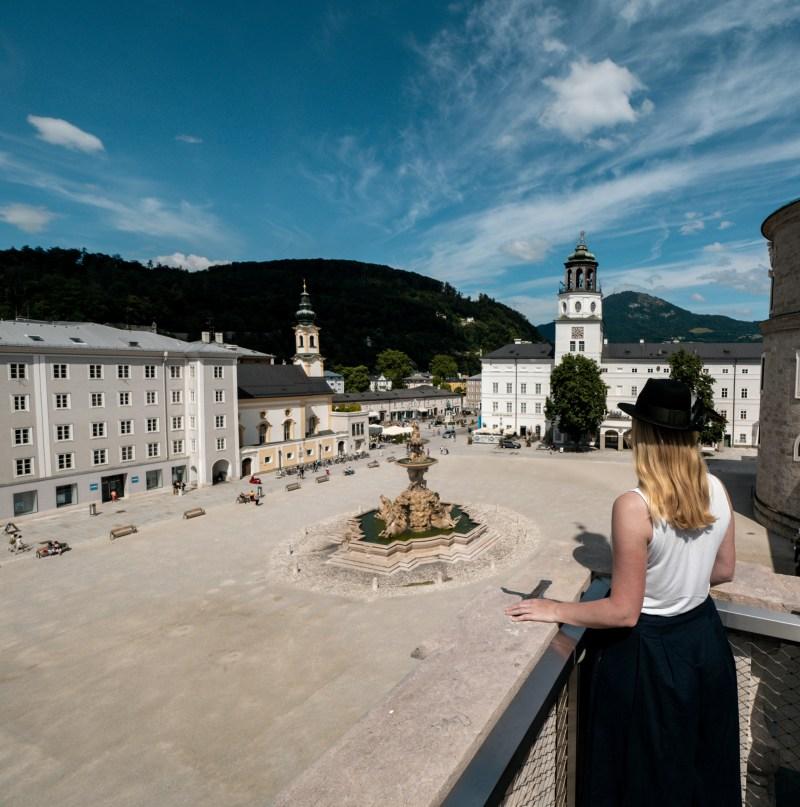 Domquartier Salzburg Fotospots Aussichtspunkte
