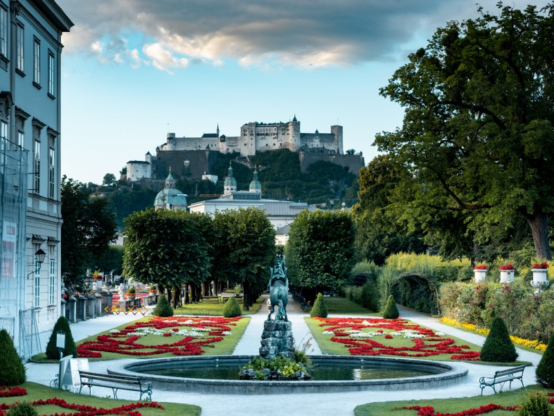 Salzburg Photography Spots Mirabellgarten