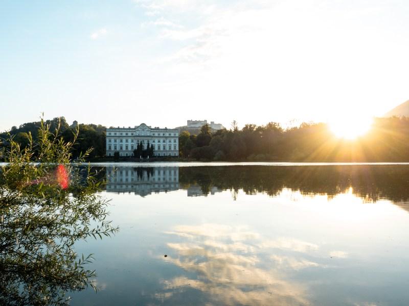 Schloss Leopoldskron Weiher Fotospots