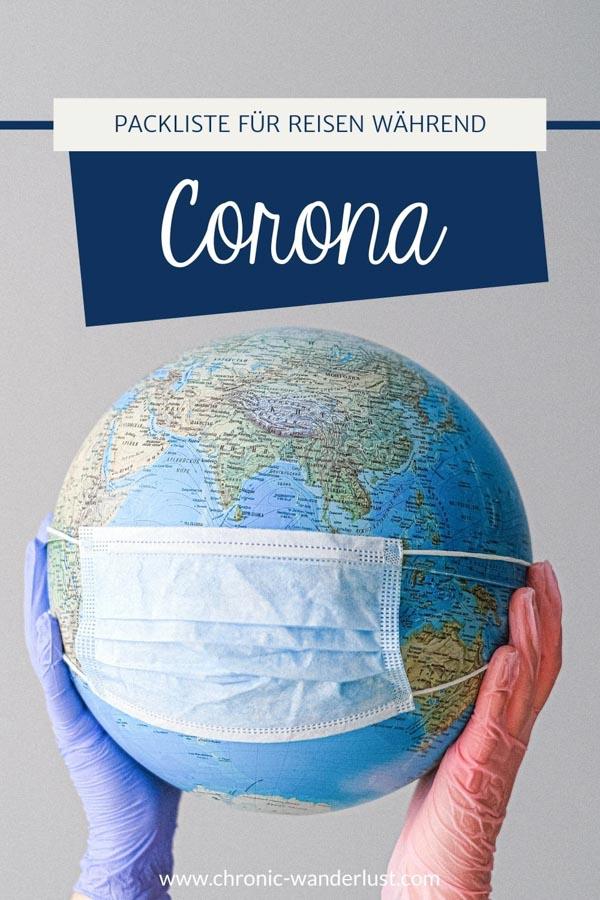 Reisen Corona Packliste