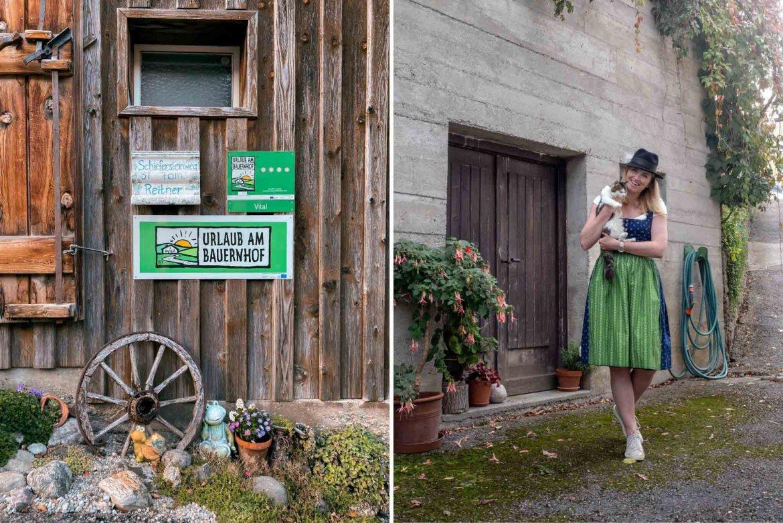 Urlaub am Bauernhof Oberoesterreich Dirndl
