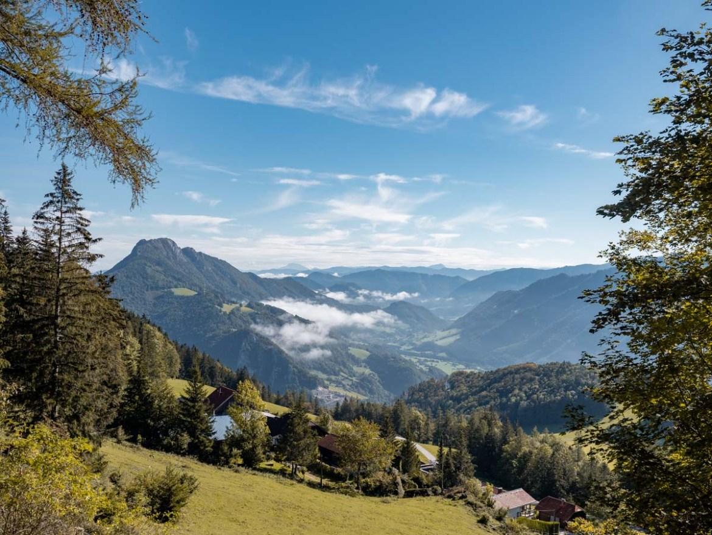 Wanderung Anton Schosser Hütte