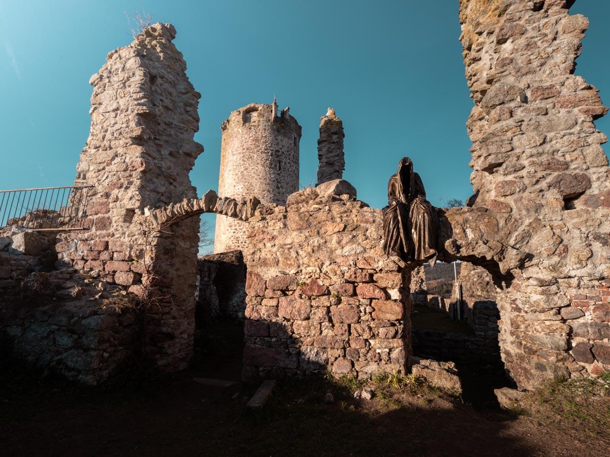 Ruine Burg Waxenberg Dementoren
