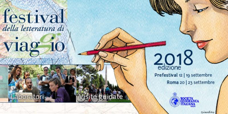 XI edizione del Festival della Letteratura di Viaggio: tante date, tanti eventi