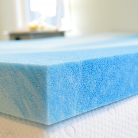 Gel Memory Foam Mattress Topper