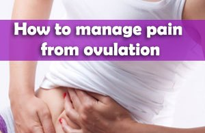 lower back pain during ovulation