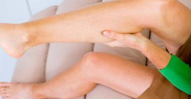 period pain in legs