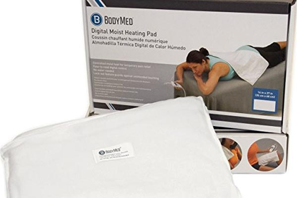 Moist Heating Pad Delivers Therapy to Pain
