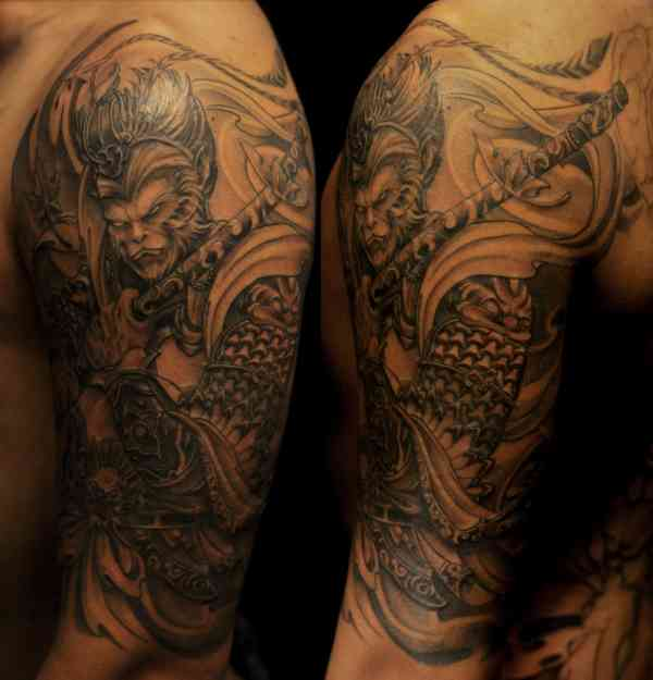 20 Monkey King Tattoo Pictures And Ideas On Weric