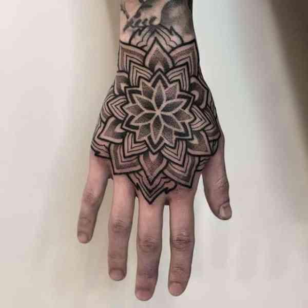 geometric tattoos - full story