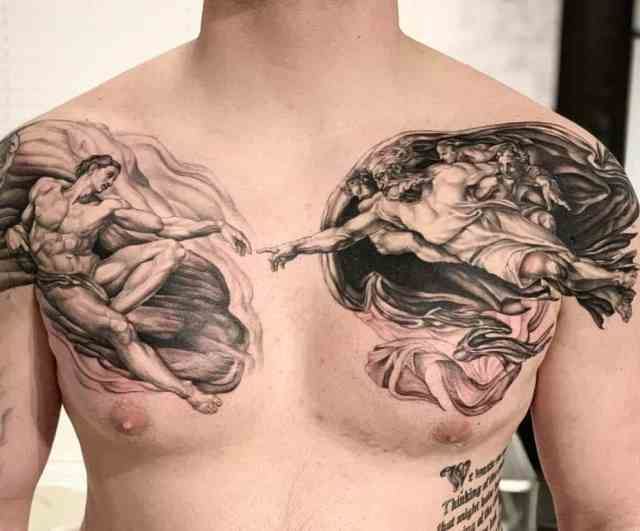 What Does a Tattoo on the chest mean? - Chronic Ink