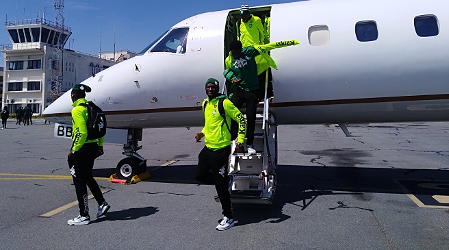 JUST IN: FC Platinum arrive in Mozambique